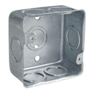 Caja galvanizada